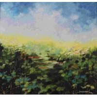 Acrylic Painting on Canvas Artist ThankarajVAAP2