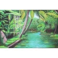 Acrylic Paintings on Canvas Artist Siva Sanker VAAAP1