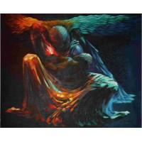 Acrylic Painting on Canvas Artist Govinden Kannapuram  VAAP2
