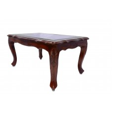 Center Table Rose Wood with Glass VTP365