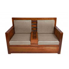 Premium Design Teak Wood 2 Seater VAWSST52S
