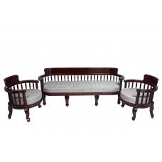 Premium Design Rose Wood Sofa Set 3 (6 Feet)+1+1) VSF0223