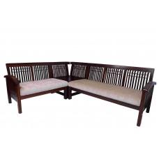 Premium Design Rose Wood Corner Sofa  Set 5 Seater VAWSRSC10
