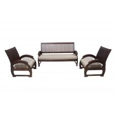 Premium Design Rose Wood Sofa Set (3+1+1) VSF0213