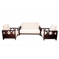 Premium Design Rose Wood Sofa Set (3+1+1) VSF0215