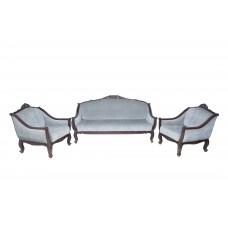 Premium Design Rose Wood Sofa Set (3+1+1) VSF0217