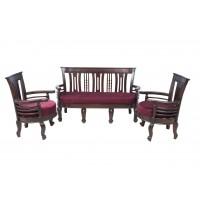Premium Design Rose Wood Sofa Set (3+1+1) VSF0221