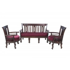 Premium Design Rose Wood Sofa Set (3+1+1) VSF0221