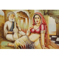 Acrylic paintings on canvas 36x24 VAAA214